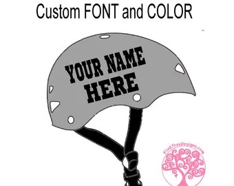 Custom Fire Helmet Name Stickers Best Helmet - Helmet custom vinyl stickers