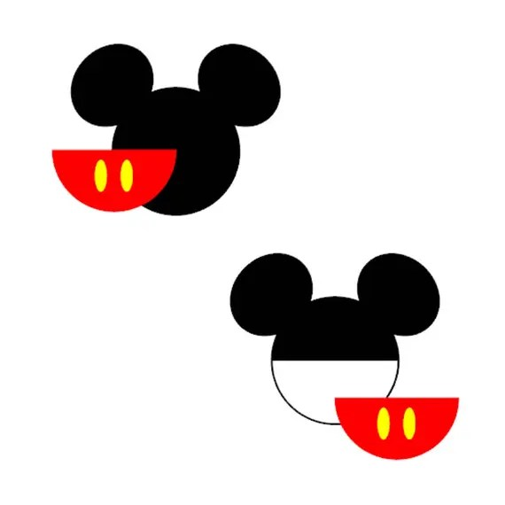 Download Mickey Mouse Head SVG DXF Eps Vector Cuttable File Cricut ...
