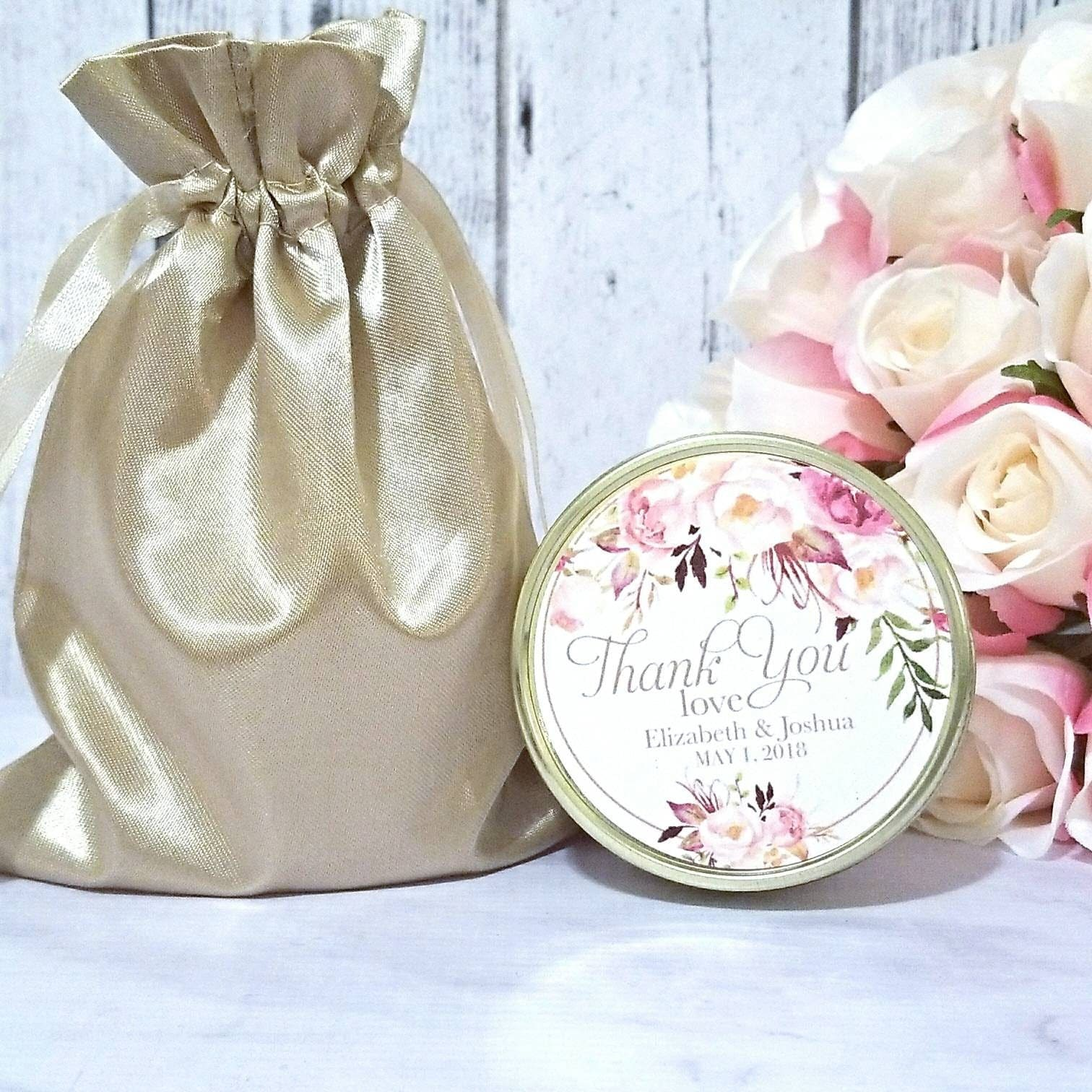 Blush Wedding Favors Candle Wedding Favors Candles Blush Wedding Gold Wedding Favors