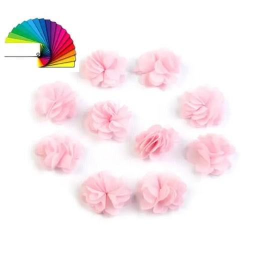 Fleurs en voile