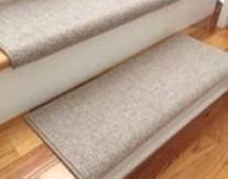 Bristol Linen New Zealand Wool!-Carpet Stair Tread (Sold Each)
