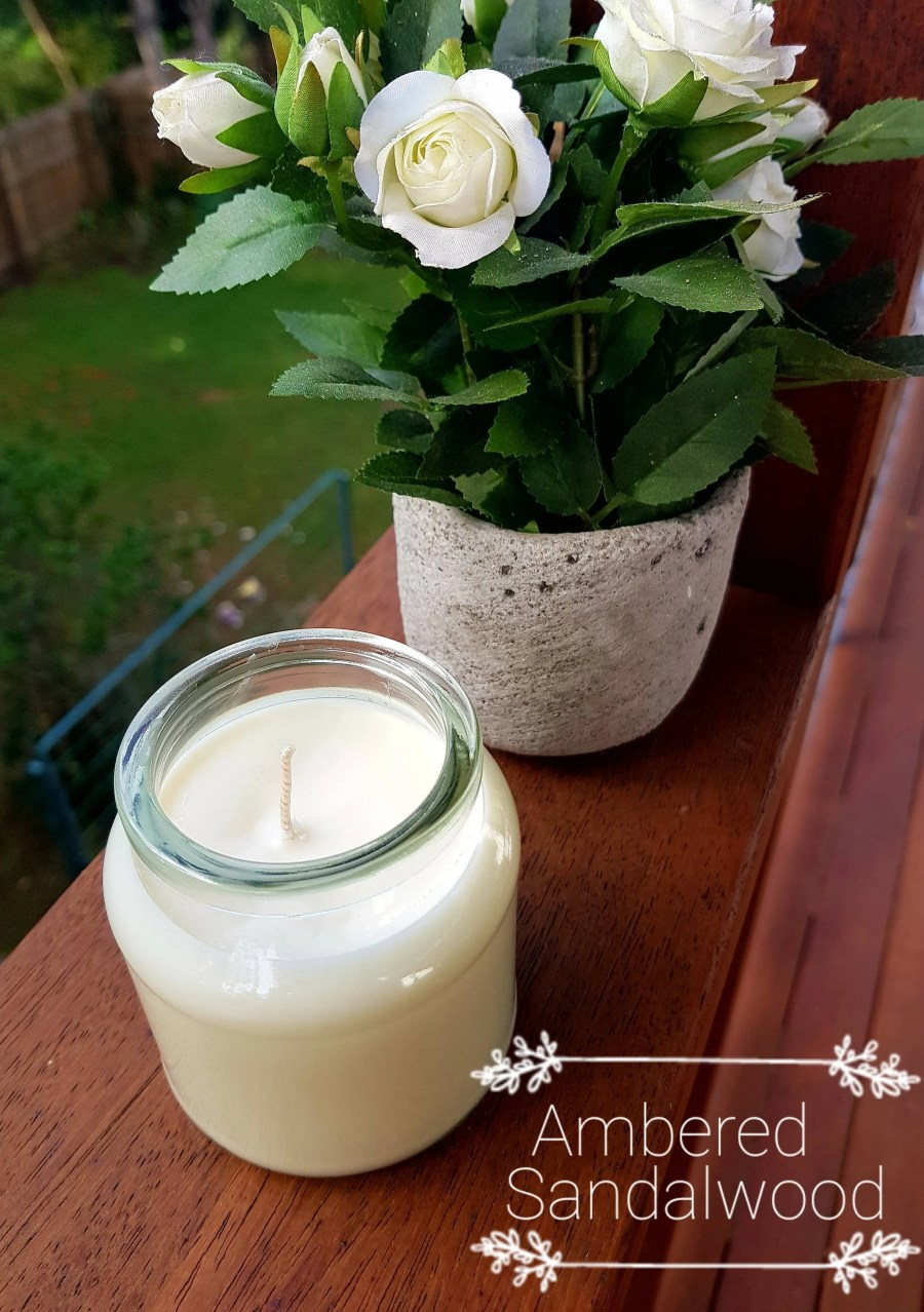 Upcycled Soy Wax Candle -...
