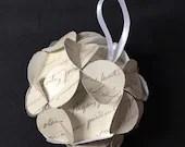 One twelve-sided handmade...