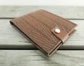 Tooled leather wallet, vi...