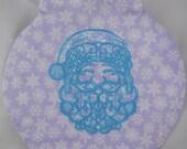 Lavender Snowflake Orname...