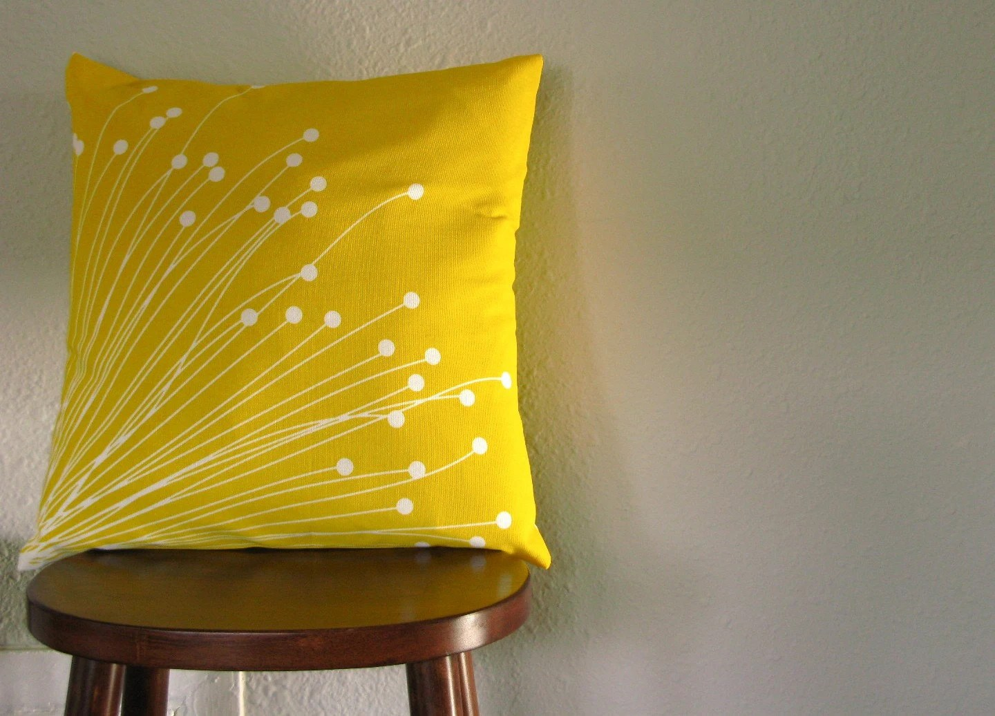 Britta (Yellow) Pillow Cover (Reduced Price)