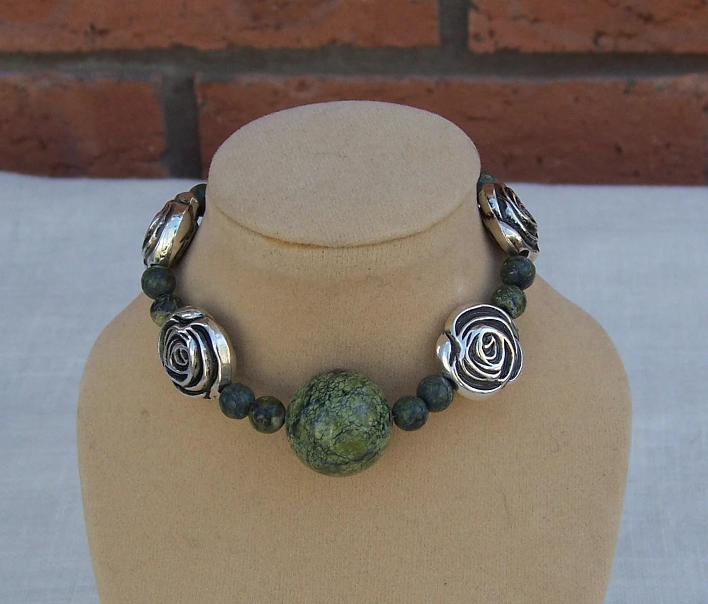 Serpentine Charm Bracelet