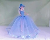 New handmade ROYAL WEDDING inspired wedding dress- barbie/sindy dolls clothes    763  x  58