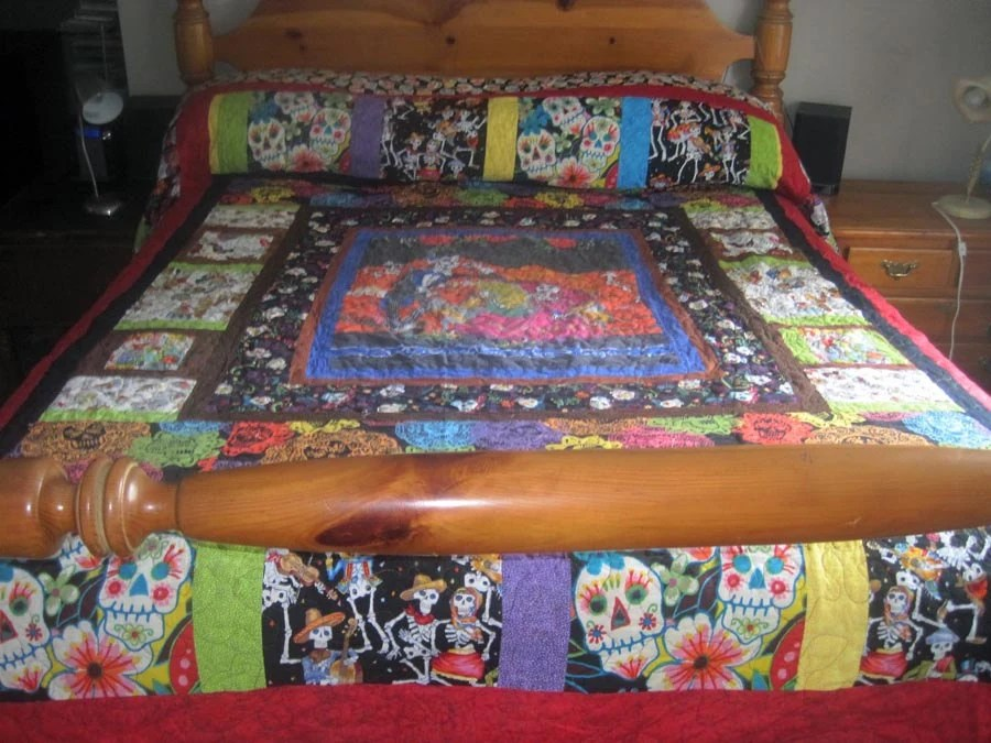 Queen Size Deadly Dating Quilt Custom Order