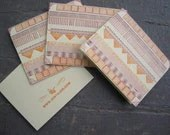 Letterpress Pattern Card - justajar
