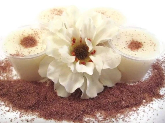 4 Caramel Cinnamon Latte Soy Candle Tart Melts Air Freshner Tart Cups
