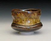 temmoko porcelain yunomi with lighter toned surface