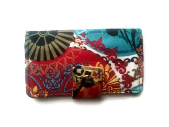 Womens Mini Snap Wallet Business Gift Card Case Holder Wedding Favor - ecsquared