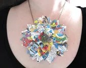 Geekery For Her The Avengers Comic Book Necklace - whatanovelidea