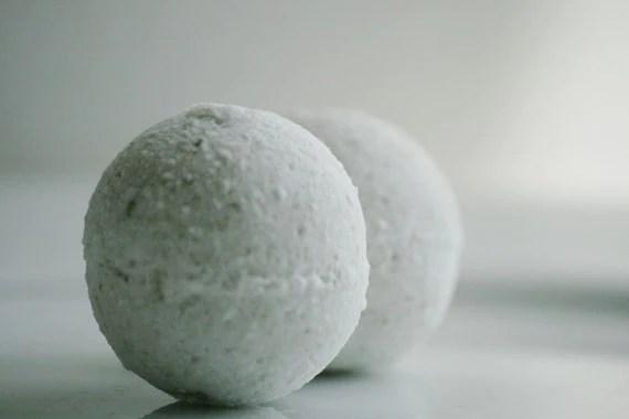 peppermint eucalyptus bath bombs