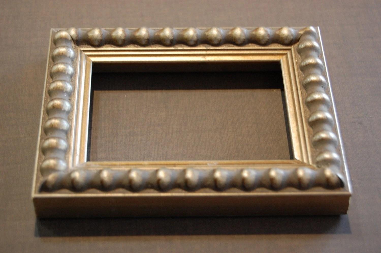 11 x 14 FRAME  Custom Cut  Silver Beaded Picture Frame - Professional Framer