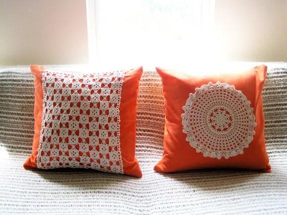 Rockin' Grandma Vintage Doily Cushion Cover