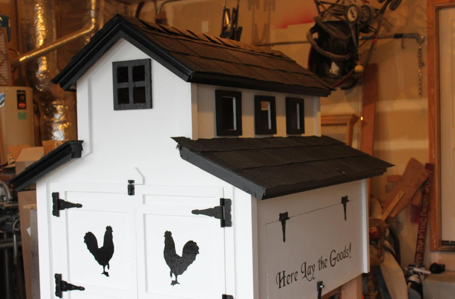 Little Church Chicken coop