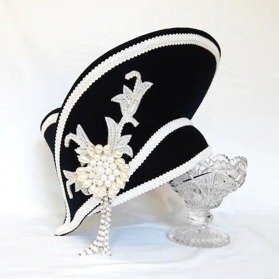 Vintage Ornate Sailor Captain Hat