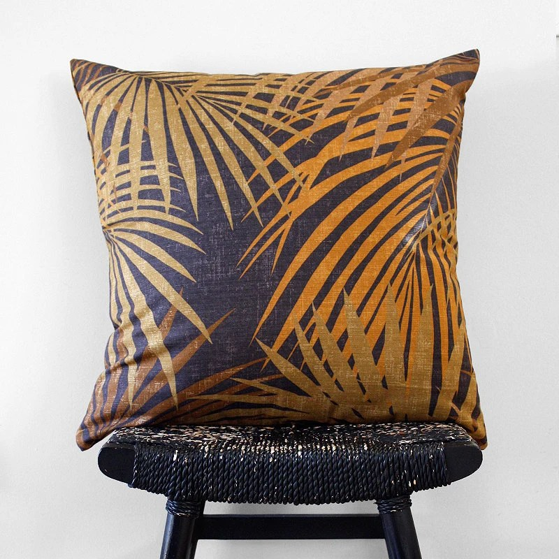 PALM Linen Cushion Cover 55 x 55 cm, 22 inch