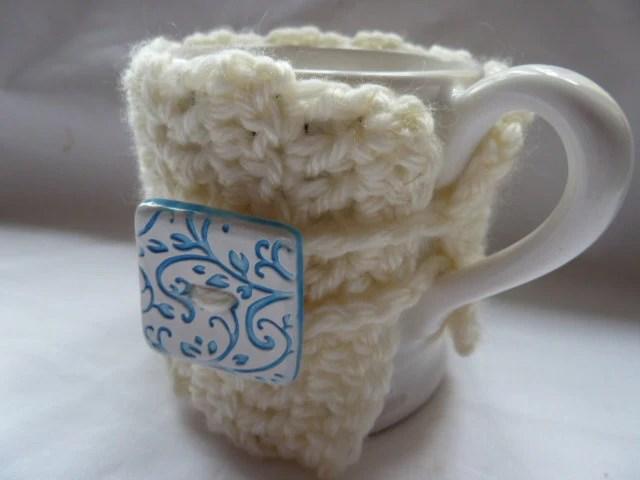 Crochet Mug Cosy by TWINKKNITS