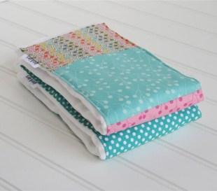 Cloth Diaper Burp Cloth - Sugar Pop