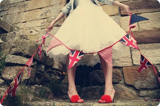 Union Jack Jubilee bunting - 3 meters of UK cool Britannia