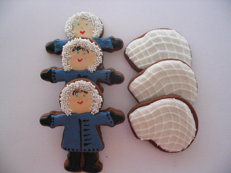 Eskimos and Igloos Cookies - 1 dozen, PLUS 6 FREE coordinating cookies
