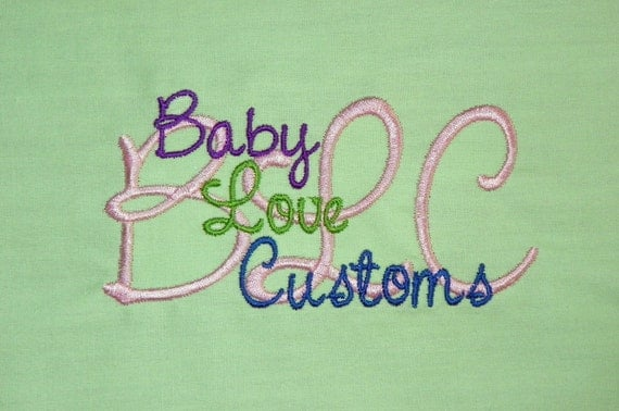 Baby Love Customs Custom Embroidery