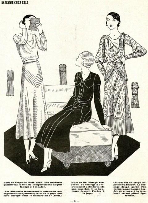 1930s Women's Magazine La Femme Chez Elle 1 March 1932