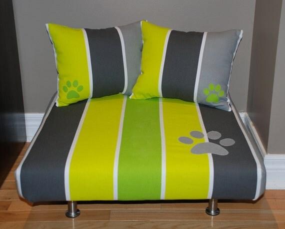 Большая мягкая кровать с 2 Pet соответствия Подушки для кошек и маленьких собак