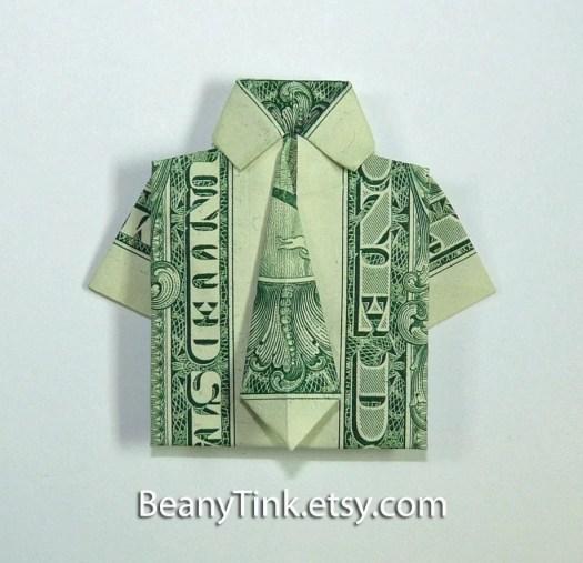Dollar Bill Dress Origami Instructions Origami Tutorial Lets Make