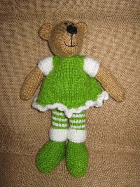 EllieMae - A Knitted Bear