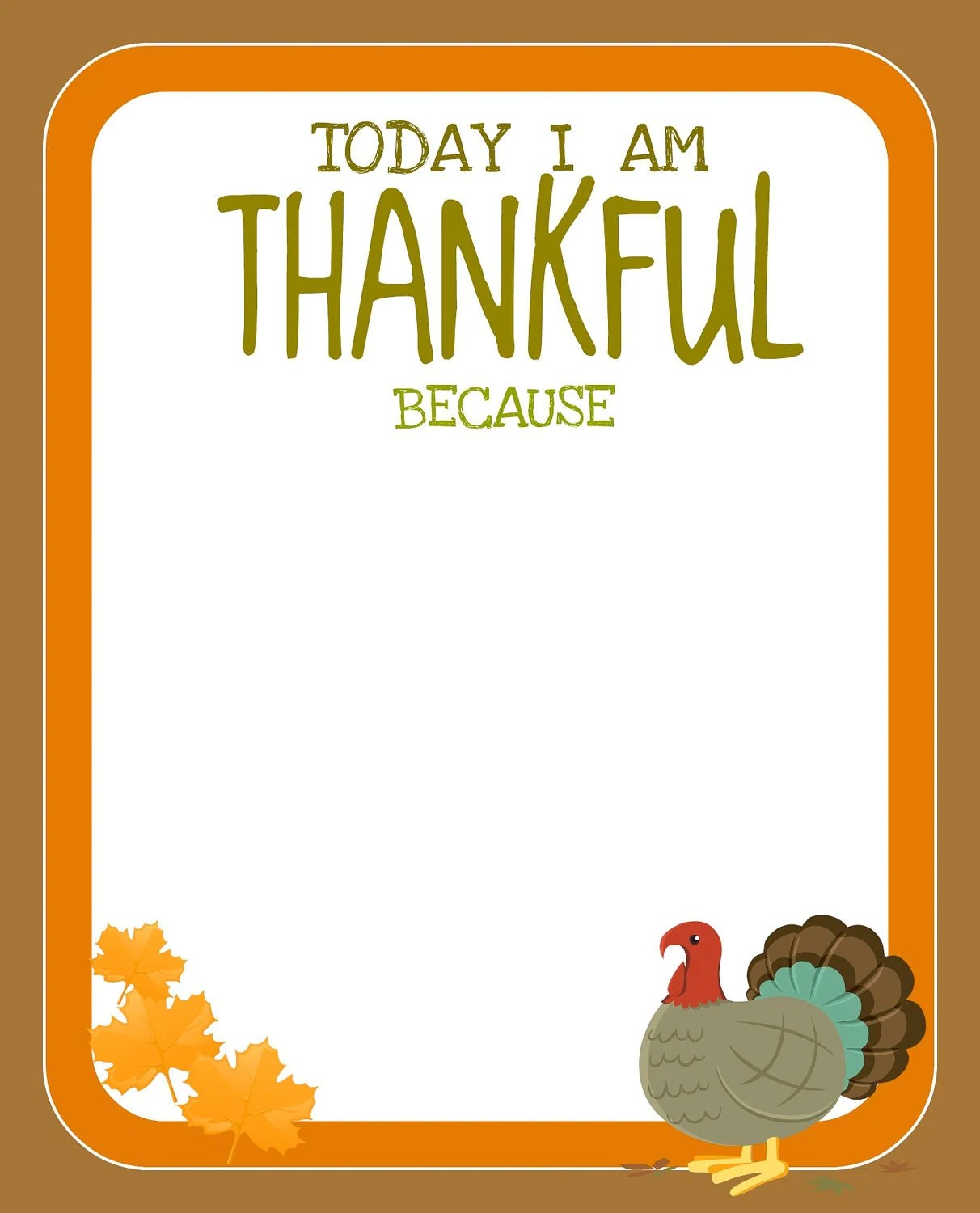 Thanksgiving Printables From Creative Juice