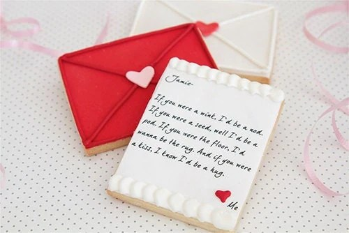 Love Letter Cookies - BB Sweets