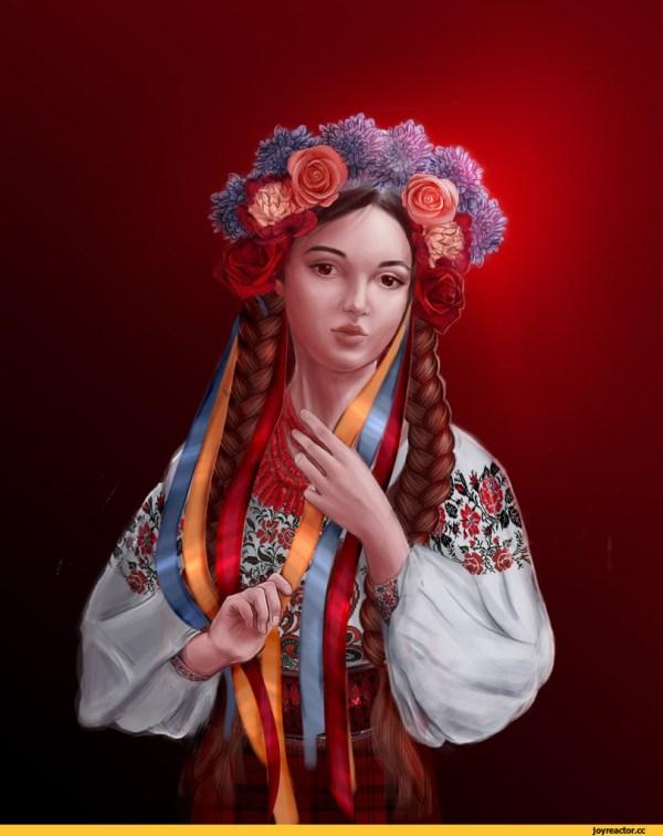 Украинки смешные картинки и другие приколы комиксы гиф