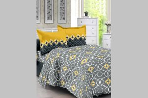 Buy Welhouse Cotton Grey Double Bedsheet With 2 Contrast Pillow Buy Welhouse Cotton Grey Double Bedsheet With 2 Contrast Pillow Covers For Unisex From Welhouse India For At Off 2019
