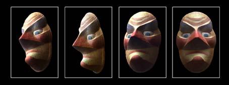 Носатая маска-группа (454x170, 57Kb)