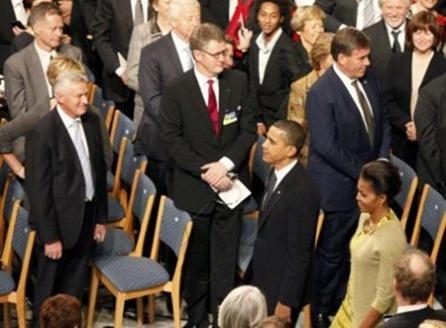 Премия авансом. Нобелевский лауреат Мира 2009 Барак Обама (фоторепортаж)