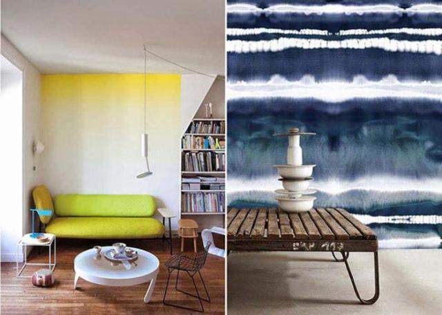 10 потрясающих примеров акварельной росписи стен