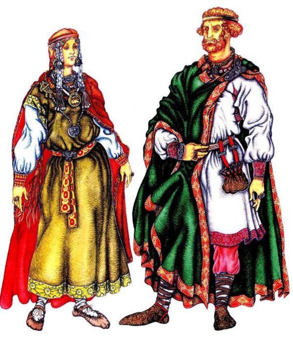 Костюм Древней Руси 1013 века Обсуждение на