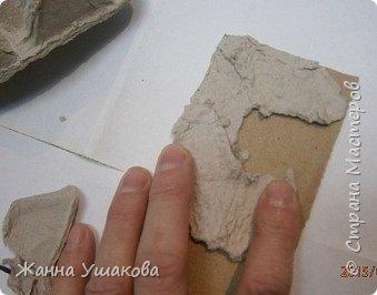 Из яичных лотков. Декоративные КАМНИ для отделки стен (12) (339x266, 61Kb)