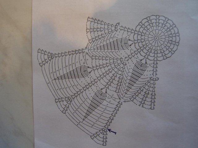 Крючком вязание для подолов платьев 188