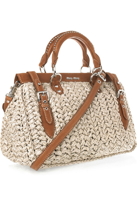 Simple Pattern For Crochet Beach Tote