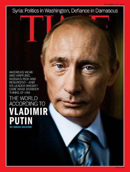 7 руководителей СССР и России на обложке журнала Time