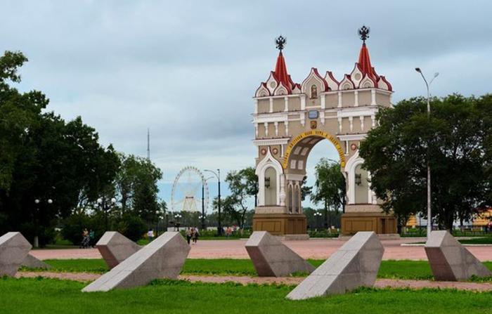 Россия 10   Достопримечательности Дальневосточного округа