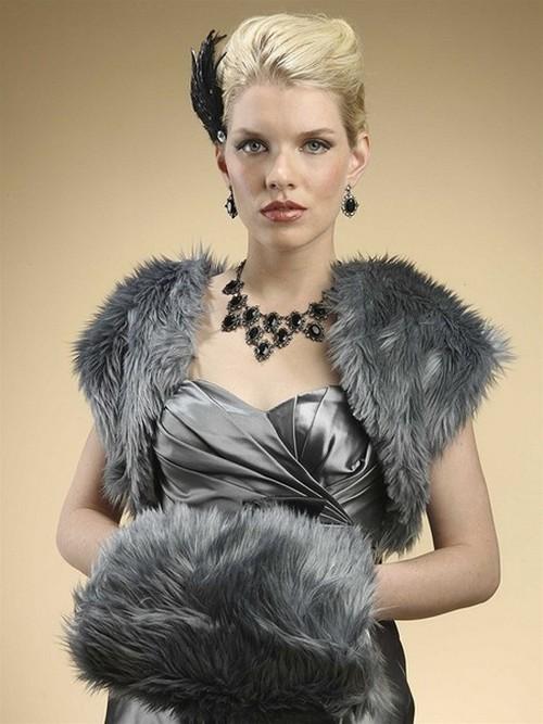 Зимняя муфта модный аксессуар этой зимы