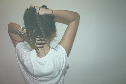 Фото Девушек Сзади С Черными Волосами