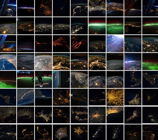 Ночная планета. Фотографии NASA