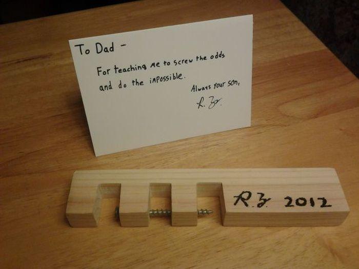 Подарок отцу: За то что научил...